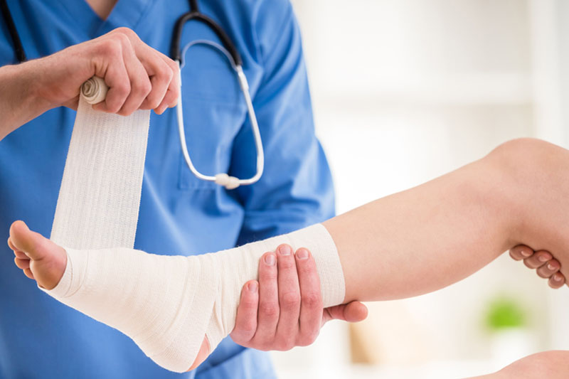 how podiatry can help with a broken foot